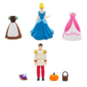 Disney Fashion Play Set - Cinderella and Prince Deluxe Playset