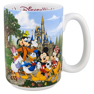 Disney Coffee Cup - New Storybook Attractions - Mom
