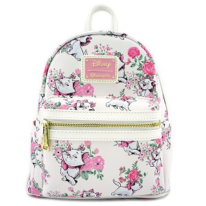 Disney Loungefly Mini Backpack - The Aristocats Marie Floral Allover-Print