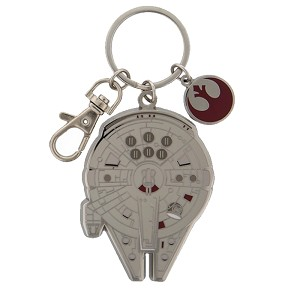 Disney Star Wars Key Chain - Millennium Falcon starship