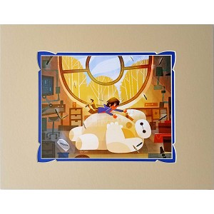 Disney Artist Print - Huggable Friend by Joey Chou