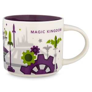 Disney Coffee Cup - Starbucks You Are Here - Magic Kingdom 3rd