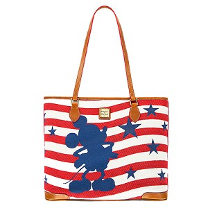 Disney Dooney and Bourke Bag - Mickey Mouse Americana Tote