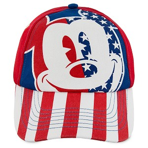 Disney Baseball Hat - Americana Mickey Mouse - Kids