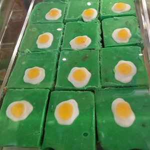 Universal Fudge - Green Eggs and Ham Bacon Flavor