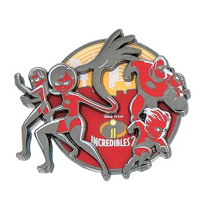 Disney Incredibles Pin - The Incredibles 2 Logo