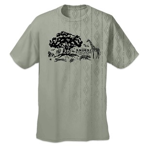 Disney Adult Shirt - Animal Kingdom 20th Anniversary EcoSmart T-Shirt