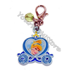 Disney Dangle Charm - Charmed In The Park  - Cinderella Icon