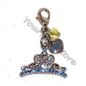 Disney Dangle Charm - Charmed In The Park - Cinderella Crown
