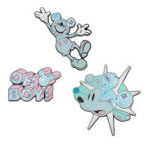 Disney 3 Pin Set - Mickey Mouse Memories - Space Age