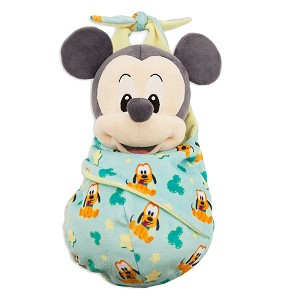 Disney Babies Plush - Baby Mickey with Blanket Pouch