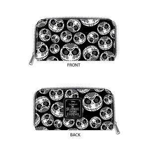 Disney Wallet - Loungefly x Nightmare Jack Sugar Skulls