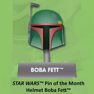 Disney Star Wars Helmets Series Pin - #11 Boba Fett