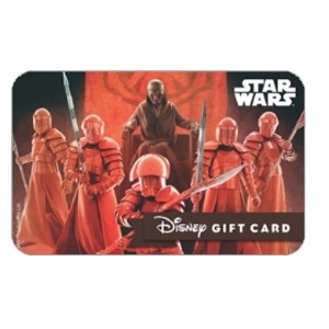 Disney Collectible Gift Card - Star Wars - Supreme Leader Snoke Guards