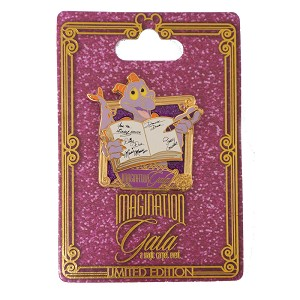 Disney Imagination Gala Pin - Figment Reading A Book