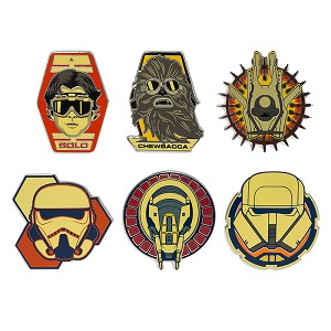 Disney 6 Pin Booster Set - STAR WARS - SOLO: A Star Wars Story