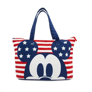 Disney Tote Bag - Mickey Mouse Americana Foldable Tote Bag