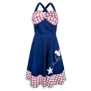 Disney Women's Dress - Mickey Mouse Americana