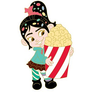 Disney Soda Fountain Pin - Vanellope from Wreck It Ralph