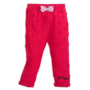 Disney Baby Pants - Minnie Mouse Red Dot Pants for Girls