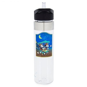 Disney Water Bottle - BoardWalk - Mickey and Minnie Mouse