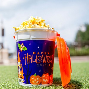 Disney Popcorn Bucket - Happy Halloween 2018 - Mickey and Minnie