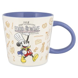 Disney Coffee Cup - 2018 Epcot Food and Wine Festival Mickey