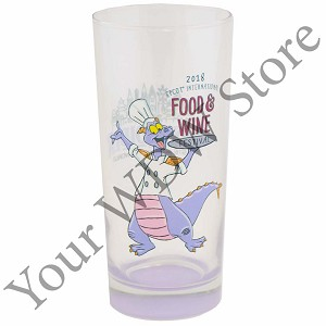 Disney Glass - 2018 Epcot Food and Wine Festival Passholder Figment