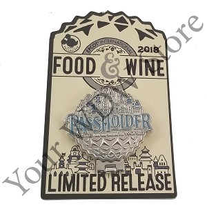 Disney Food and Wine Festival Pin - 2018 Festival Passholder Figment