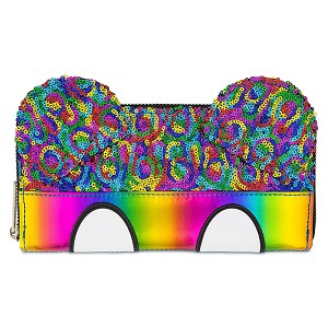Disney Parks Wallet - Rainbow Mickey Sequin by Loungefly