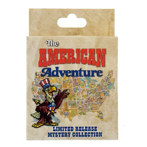Disney Mystery Pin - The American Adventure - You Pick