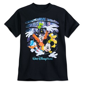 Disney Boy's Shirt - Mickey Mouse and Friends - 2-sided