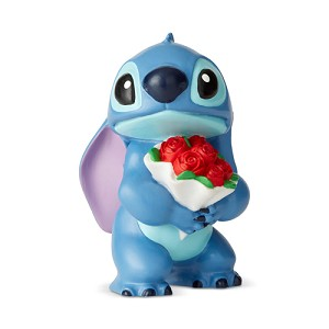 Disney Showcase Collection Mini Figure - Stitch with Flowers