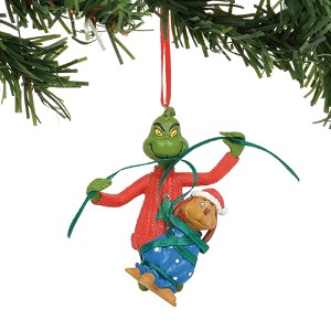 Universal Ornament - Dr. Seuss Grinch - Grinch Wrapping Max