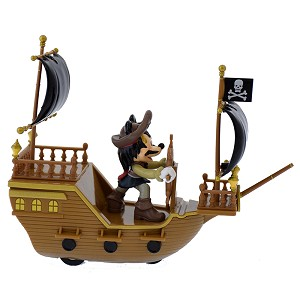 Disney Pullback Toy Car - Mickey as Jack Sparrow - Pirates of the Caribbean