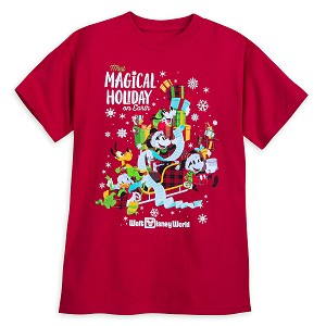 Disney Adult Shirt - Holiday 2018 - Most Magical Holiday On Earth