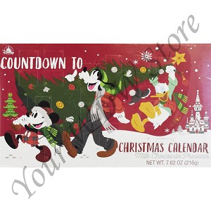 Disney Candy and Snacks - Happy Holidays 2018 - Countdown Calendar