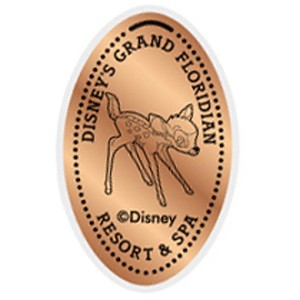 Disney Pressed Penny - Grand Floridian - Bambi
