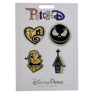 Disney Iron On Patch - Patched - Nightmare Before Christmas - 4 pk.