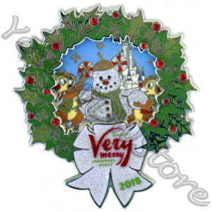 Disney Very Merry Christmas Party Pin - 2018 Chip & Dale