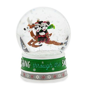 Disney Snow Globe - Mickey and Minnie - Reindeer