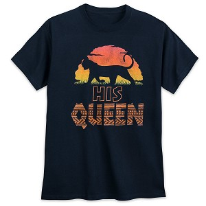 Disney Adult Shirt - Coordinating Shirt - Lion King - His Queen
