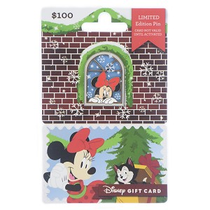 Disney Gift Card with Pin - Holiday 2018 - Minnie Mouse