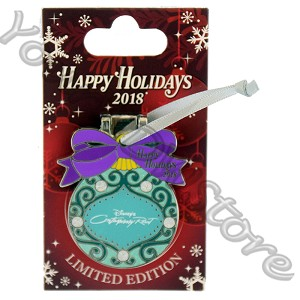 Disney Resort Holidays Pin 2018 - Contemporary Pluto