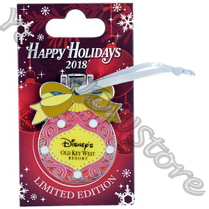 Disney Resort Holidays Pin 2018 - Old Key West Mickey and Minnie