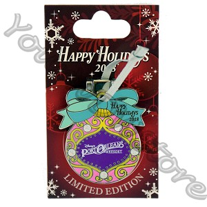 Disney Resort Holidays Pin 2018 - Port Orleans Tiana