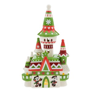 Disney Figurine - Light-Up Fantasyland Castle - Nordic Winter