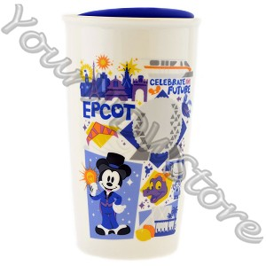 Disney Travel Tumbler - Starbucks Park Icons - Epcot