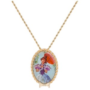 Disney Necklace - Haunted Mansion Tightrope Walker Girl