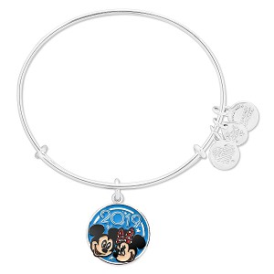 Disney Alex and Ani Bracelet - 2019 Mickey and Minnie Mouse Bangle